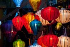 Lanterne di carta Immagine Stock