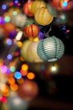 Lanterne di festa Fotografia Stock