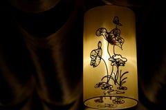 Lanterne di Lotus Fotografia Stock