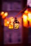 Lanterne di Natale Immagine Stock