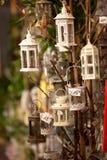 Lanterne di notte Fotografia Stock Libera da Diritti