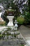 Lanterne di pietra Nara, Giappone Fotografie Stock