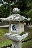 Lanterne di pietra Nara, Giappone Immagine Stock Libera da Diritti