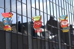 Lanterne di seta cinesi Immagini Stock Libere da Diritti