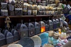 Lanterne e candele arabe fotografie stock libere da diritti