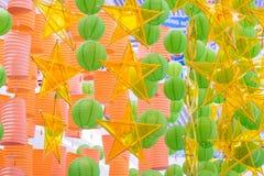 Lanterne en cas de festival de Mi-automne photographie stock