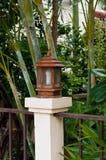 Lanterne en parc Image libre de droits