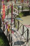 Lanterne faite de papier ; La tradition de lanterne handcraft image stock