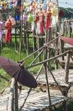 Lanterne faite de papier ; La tradition de lanterne handcraft photographie stock