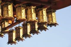Lanterne giapponesi Fotografie Stock