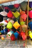 Lanterne Handcrafted in città antica Hoi An, Vietnam Fotografia Stock Libera da Diritti