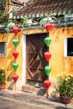 Lanterne in Hoi An Fotografia Stock