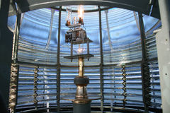 Lanterne intérieure de phare photos stock