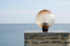Lanterne isolée de ville images libres de droits
