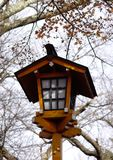 Lanterne japonaise traditionnelle en bois Photos libres de droits