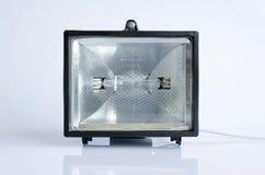 Lanterne noire d'halogène Image libre de droits