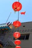 Lanterne rosse Immagini Stock Libere da Diritti