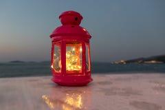 Lanterne rouge photo stock