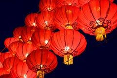 Lanterne rouge chinoise Images stock