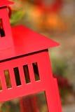 Lanterne rouge dans l'automne 1 Image stock