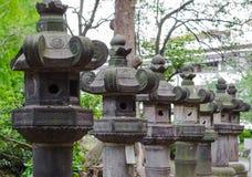 Lanterne a Tokyo fotografia stock libera da diritti
