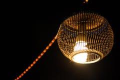 Lanterne traditionnelle du nord-est de la Thaïlande Photo stock