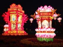 Lanterne tradizionali cinesi fotografie stock