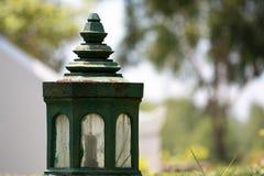 Lanterne verte Image libre de droits