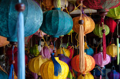 Lanterne vietnamite Immagine Stock
