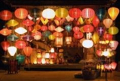 Lanternes Photographie stock