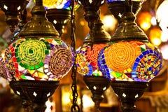 Lanternes arabes Images libres de droits