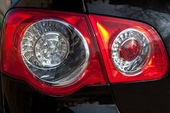Lanternes arrières du véhicule Photo libre de droits