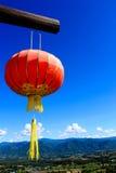 Lanternes chinoises. Image libre de droits
