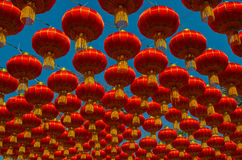 Lanternes chinoises photos stock