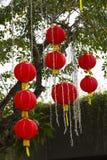 Lanternes chinoises Images libres de droits