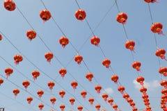 Lanternes chinoises Photographie stock