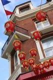 Lanternes chinoises d'an neuf Photographie stock libre de droits