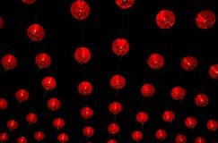 Lanternes chinoises d'an neuf Image libre de droits