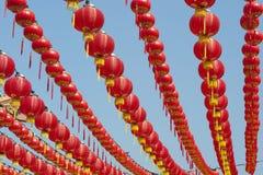 Lanternes chinoises d'an neuf