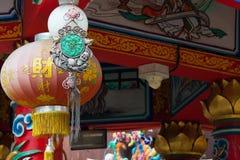 Lanternes chinoises dans le jour de nouvelles années chinois Photographie stock libre de droits
