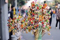 Lanternes chinoises pendant la nouvelle année chinoise Image stock