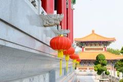 Lanternes chinoises pendant le festival de nouvelle année photo stock