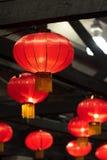 Lanternes chinoises rouges photos stock