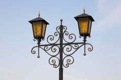 Lanternes d'or Photographie stock