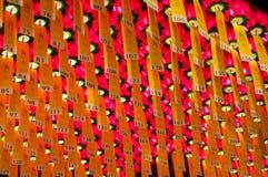 Lanternes dans le temple de Bongeunsa Image stock