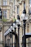 Lanternes dans une ligne Image libre de droits