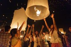 Lanternes de lancement de ciel photos libres de droits