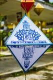 Lanternes en Hue Imperial City Mi festival d'automne image stock