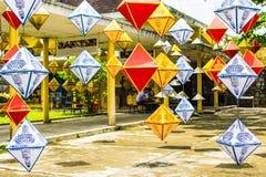 Lanternes en Hue Imperial City Mi festival d'automne image libre de droits