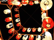 Lanternes japonaises Photos stock